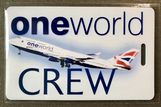 BA One World Tag